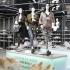 Photo: Mannequins on a platform in a fashion store; copyright: Messe Düsseldorf