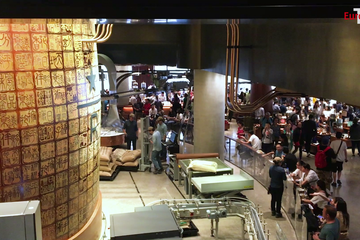 Coffee roasting can be this smart: The Starbucks Reserve Roastery in Shanghai