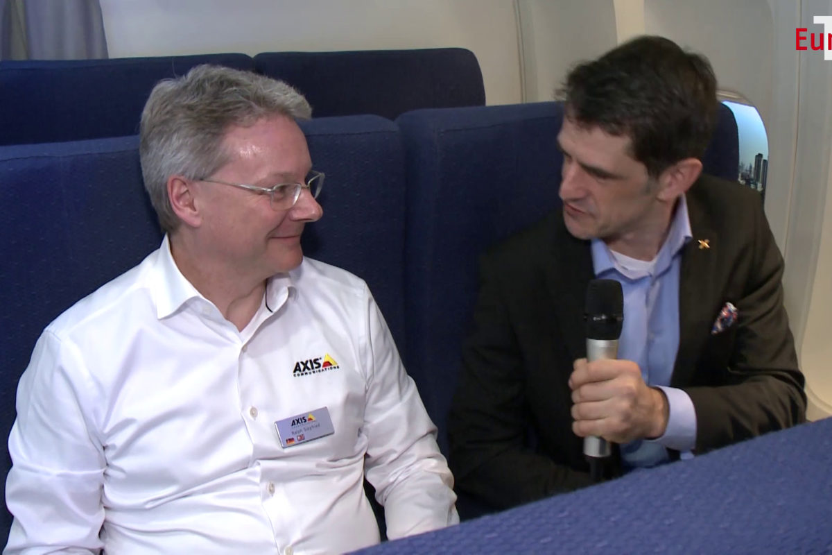 Unterwegs zur EuroCIS mit … Ralph Siegfried, AXIS Communications